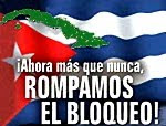 Contra el Bloqueo en Cuba!