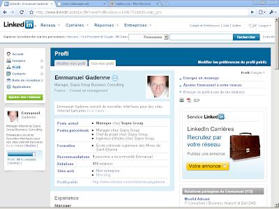 webusage.net: LinkedIn débarque en français .
