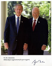 President George W. Bush &amp; Vice President Dick Cheney
