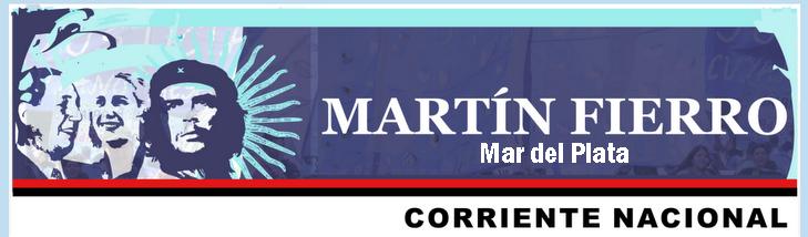 CORRIENTE MARTÍN FIERRO - MAR DEL PLATA