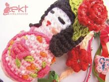 Kokeshi Total Rosa!!!