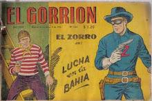"""portada """"El gorrión"""""""