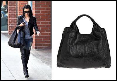Kim Kardashian and the Givenchy Large Elschia Sac
