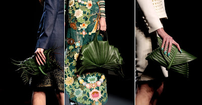 Jean Paul Gaultier Spring 2010 Haute Couture jungle bags
