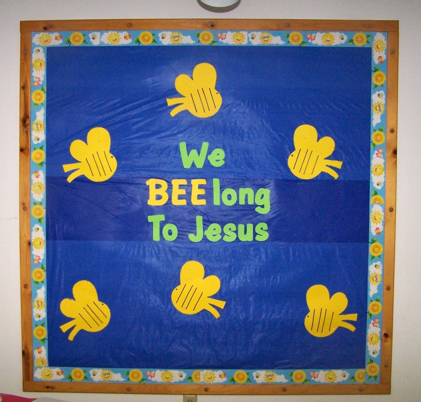 Bulletin Board Ideas For Church Nursery
