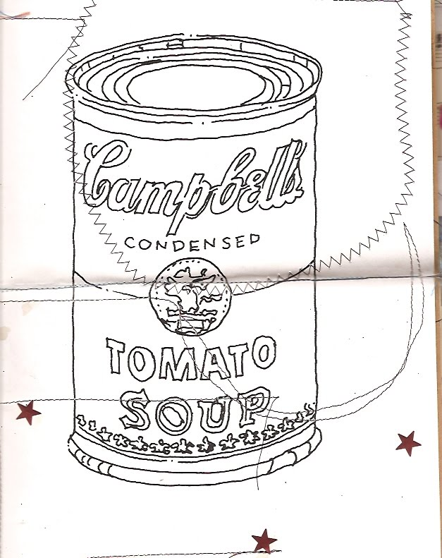 campbells soup coloring pages - photo#4