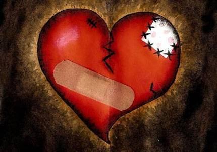 poemas de corazon roto. corazones de amor y poemas.
