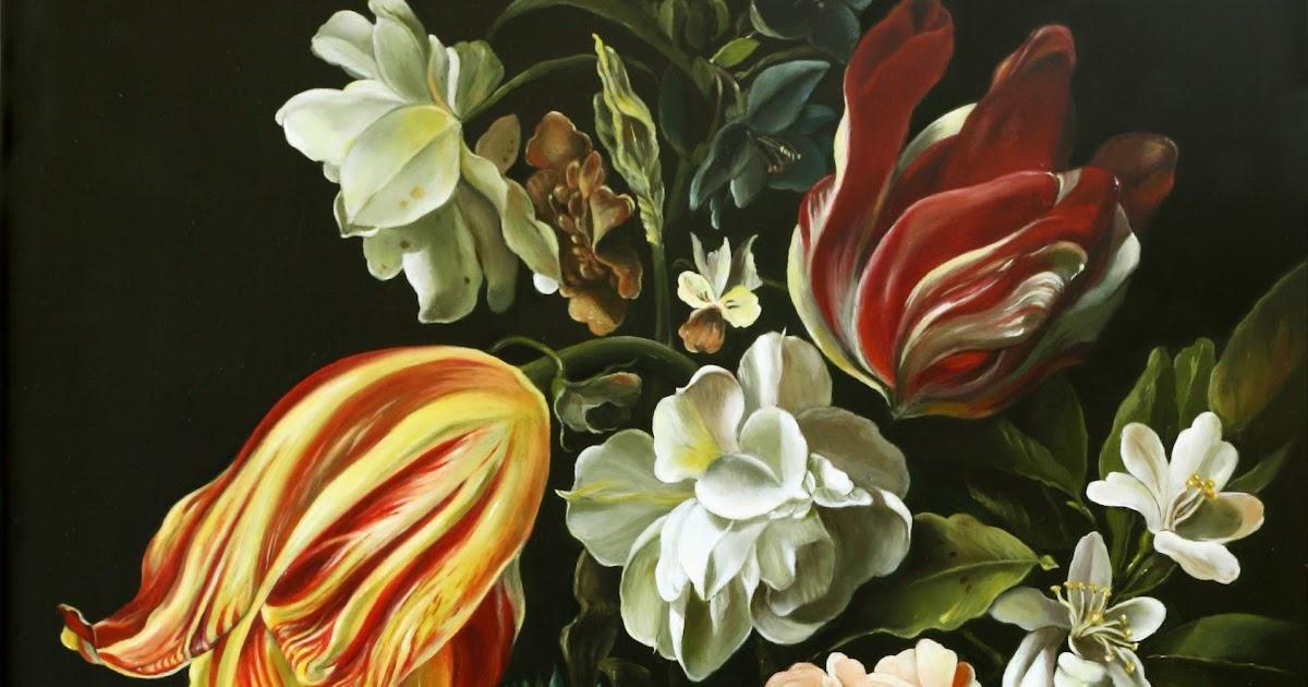La tavola fiamminga vaso con fiori for Fiori con la p