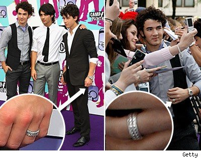 Jonas Brothers Promise Rings