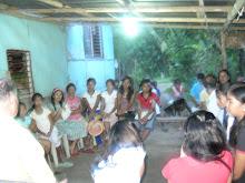 BRO. PAUL W. HOLDS BIBLE STUDY IN NOYNOYEN,ROSARIO. JULY 6