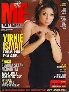 Virnie Ismail payudara montok body seksi seputar indonesia artis