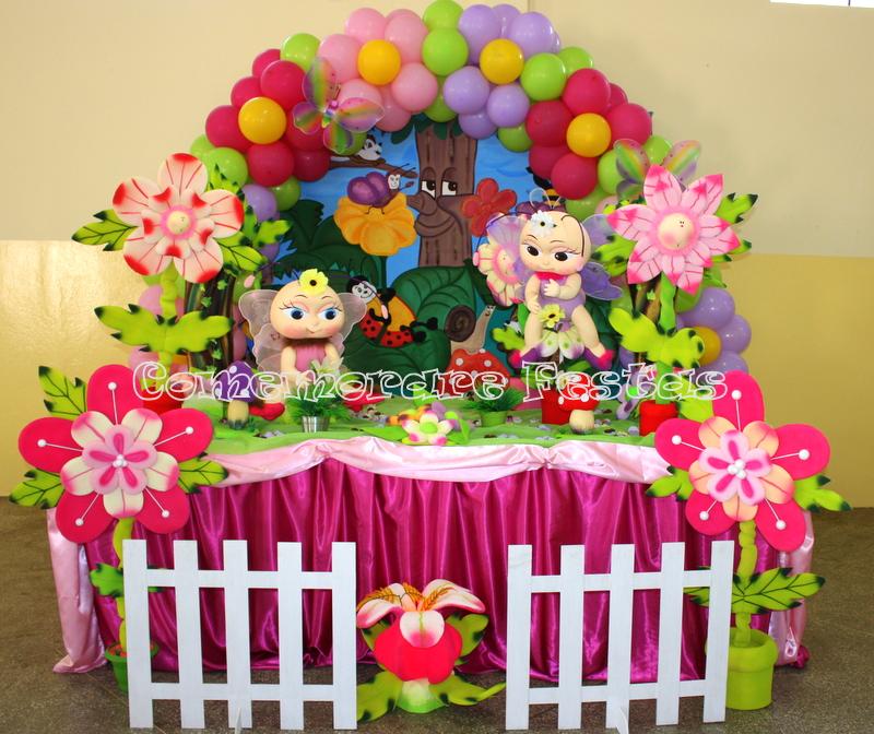 decoracao de aniversario jardim das borboletas: de decoração.. arranjos.. cestos.. tecidos lindos.. folhas naturais