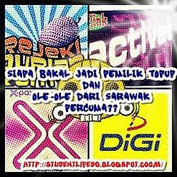 Topup Percuma Dan Ole-Ole Dari Sarawak