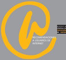 Portada del documento Recomendaciones a usuarios de internet