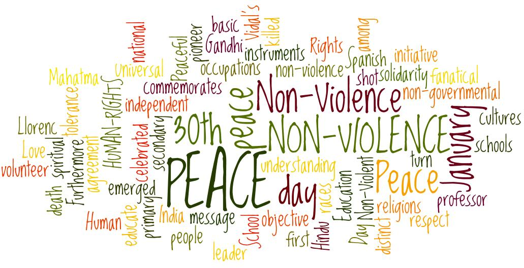 essay about non violence