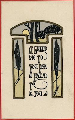 1913 Christmas card