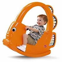 Kiddy bear toys for sell brand new step2 angel fish rocker for Step 2 rocking fish