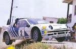 Rally Grupo B Ford RS 200