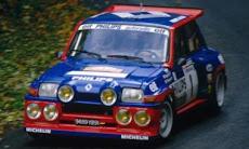 Renault 5 MaxiTurbo.