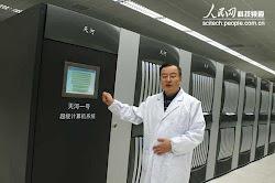 Los chinos tambien ruedan un programa similar  en un superordrnador a 2660 MHz (10.64 GFlops)