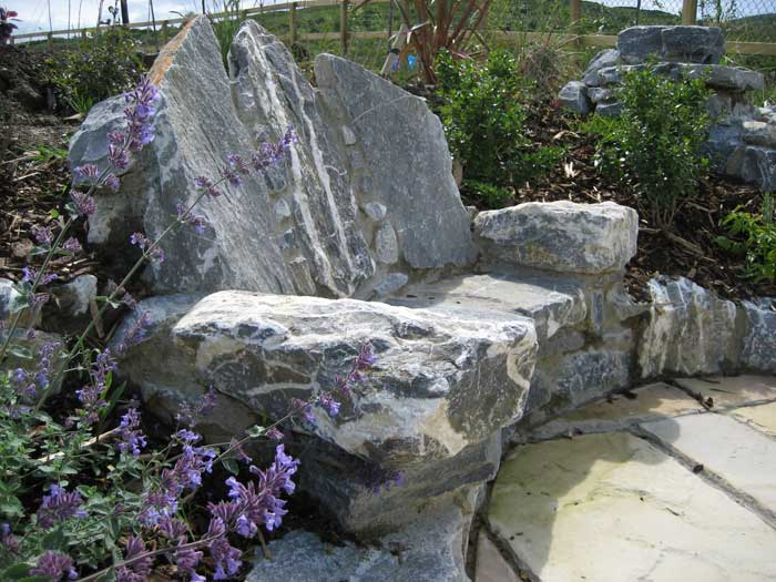 There Is Something Very Special About Sitting In A Stone Seat, It Feels  Very Grand, Almost Throne Like. When Building Stone Seats, ...