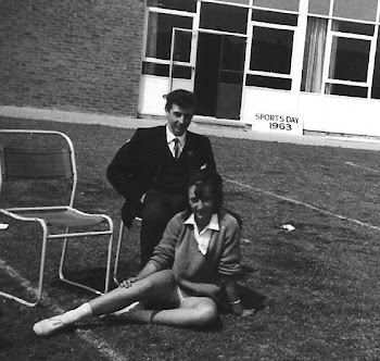 Richard Pegg and Christine Budd at the School Sports Day