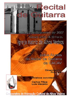 Recital de guitarra - CACAV