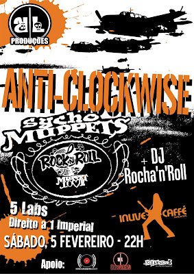 Anti-Clockwise + Sycho Muppets