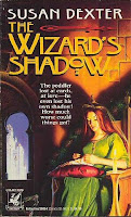 cover of 'The Wizard's Shadow' by Susan Dexter