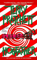 cover of Terry Pratchett's 'Hogfather'