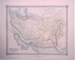 1835م خريطة بلوشستان المستقلة عام