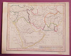 عام 1840م خريطة بلوشستان المستقلة