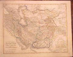عام 1842م خريطة بلوشستان المستقلة