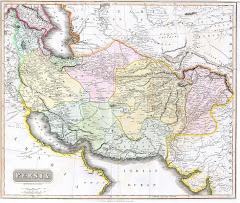 عام 1814 م خريطة بلوشستان المستقلة