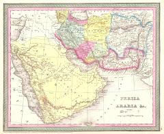 1850م خريطة بلوشستان المستقلة