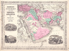 1866م خريطة بلوشستان المستقلة