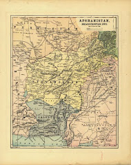 عام 1893 مخريطة بلوشستان الشرقية بعد التقسيم