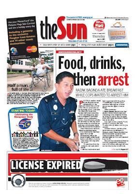 Abdul Razak Baginda Took The Term Belanja Mata Minum Kopi Treat Cops Drink Coffee Too Literally Ada Bubuh Tongkat Ali Kah