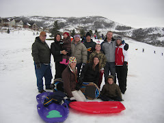 Sledding Over Christmas Break