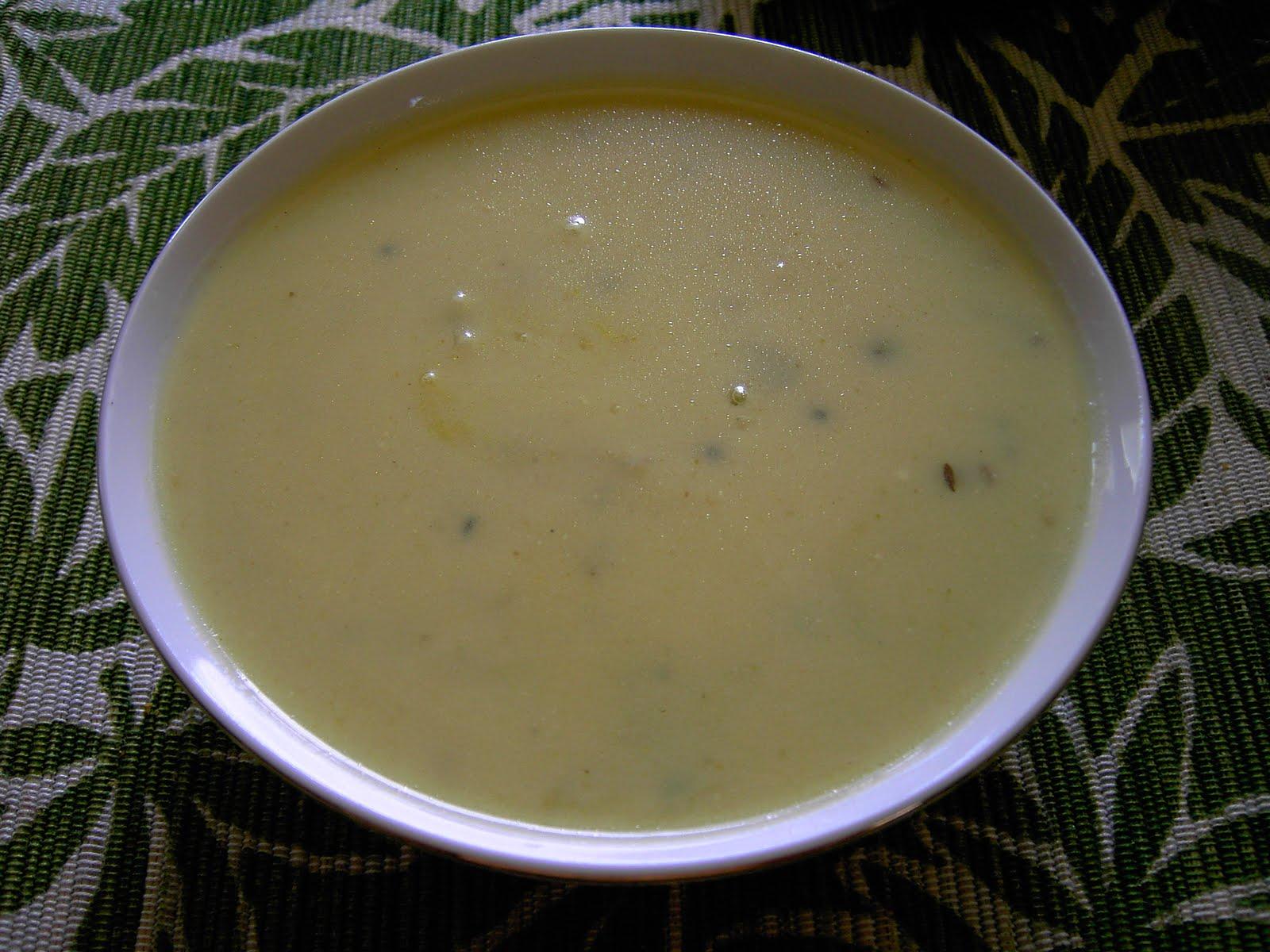 MuLyachi Kadhi - Radish buttermilk Soup