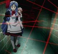 Anime Laser Girl Laser Room Lazer Craze