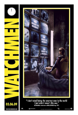 Watchmen movie poster comic convention Ozymandius Adrien Veidt