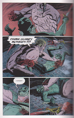 Abe Sapien BPRD B.P.R.D. Garden Of Souls Hellboy Mignola Del Toro decapitation sword