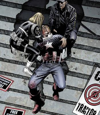 Captain America 25 Brubaker Death Sharon Carter