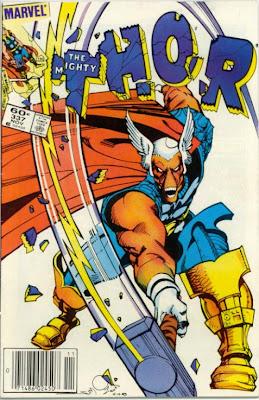 Thor Simonson beta Ray Bill Hammer