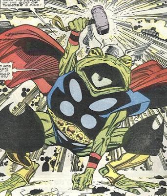 Thor Frog Simonson Mjolnir