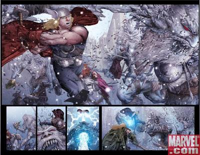 Thor Frost Giants viking one-shot Matt Fraction