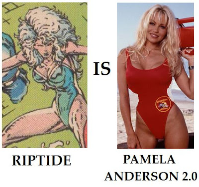 Riptide Youngblood Rob Liefeld Pamela Anderson Baywatch