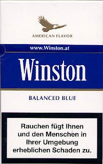 Io Fumo: WINSTON BALANCED FLAVOUR BLUE