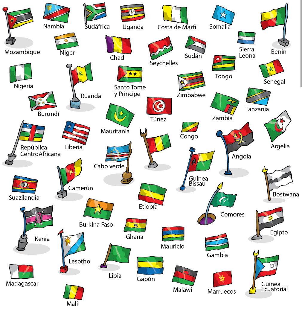 Bandereas de África